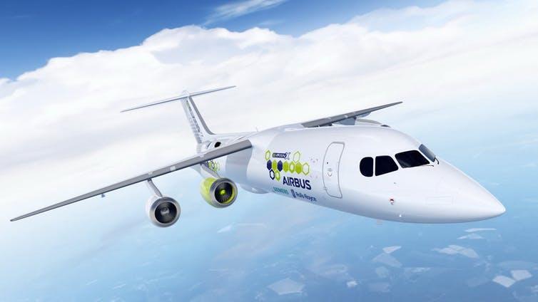 Pesawat Listrik Tidak Akan Menyelesaikan Masalah CO₂